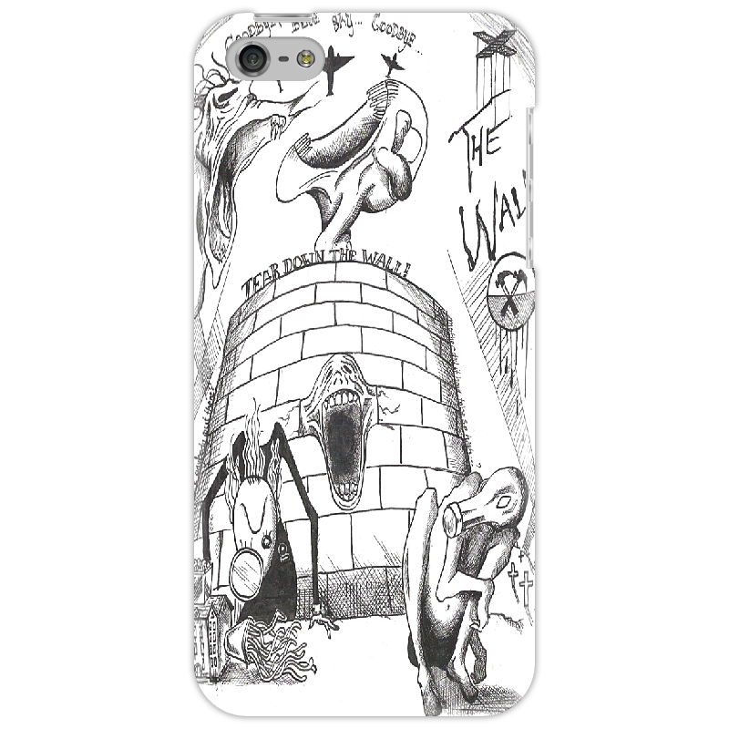 купить Чехол для iPhone 5 Printio The wall недорого