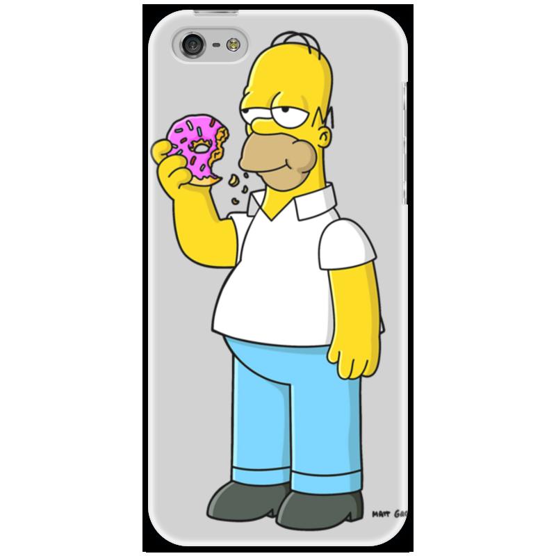 Чехол для iPhone 5 Printio Гомер суриков и е гомер