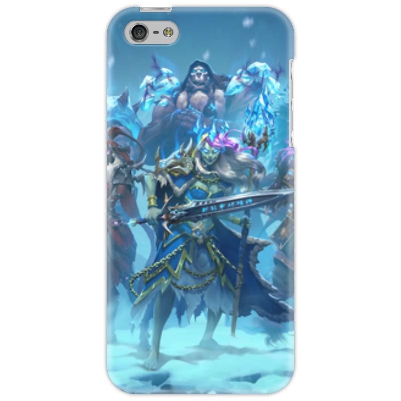 Чехол для iPhone 5 Printio Knights of the frozen throne чехол для iphone 6 глянцевый printio knights of the frozen throne