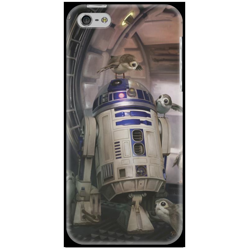 Чехол для iPhone 5 Printio Звездные войны - r2-d2
