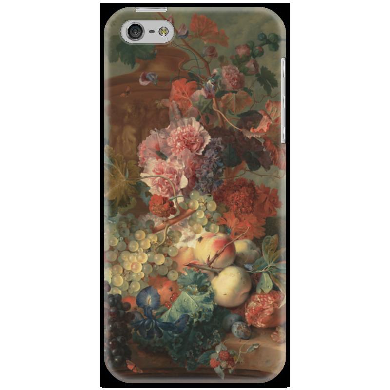 Чехол для iPhone 5 Printio Цветы (ян ван хёйсум) ян ван хейсум