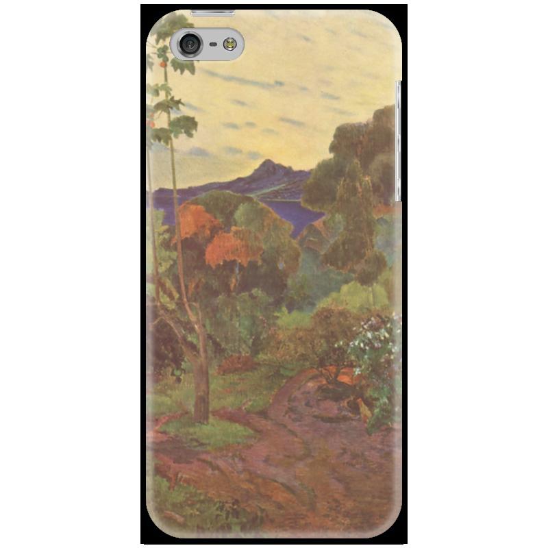 Чехол для iPhone 5 Printio Тропические растения