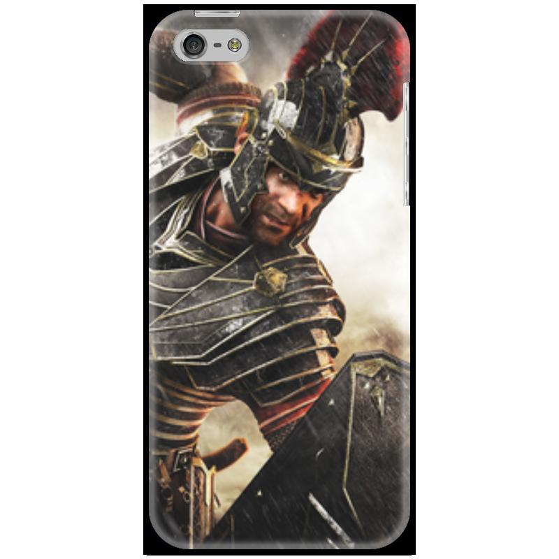 Чехол для iPhone 5 Printio Римская империя павшая империя