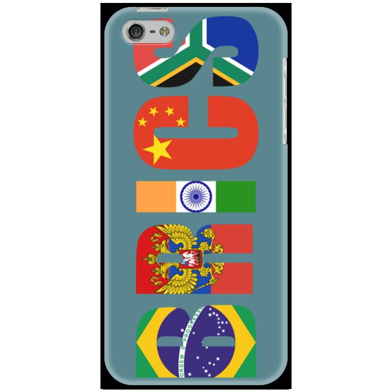 Чехол для iPhone 5 Printio Brics - брикс чехол twelve south bookbook для iphone 5 в спб