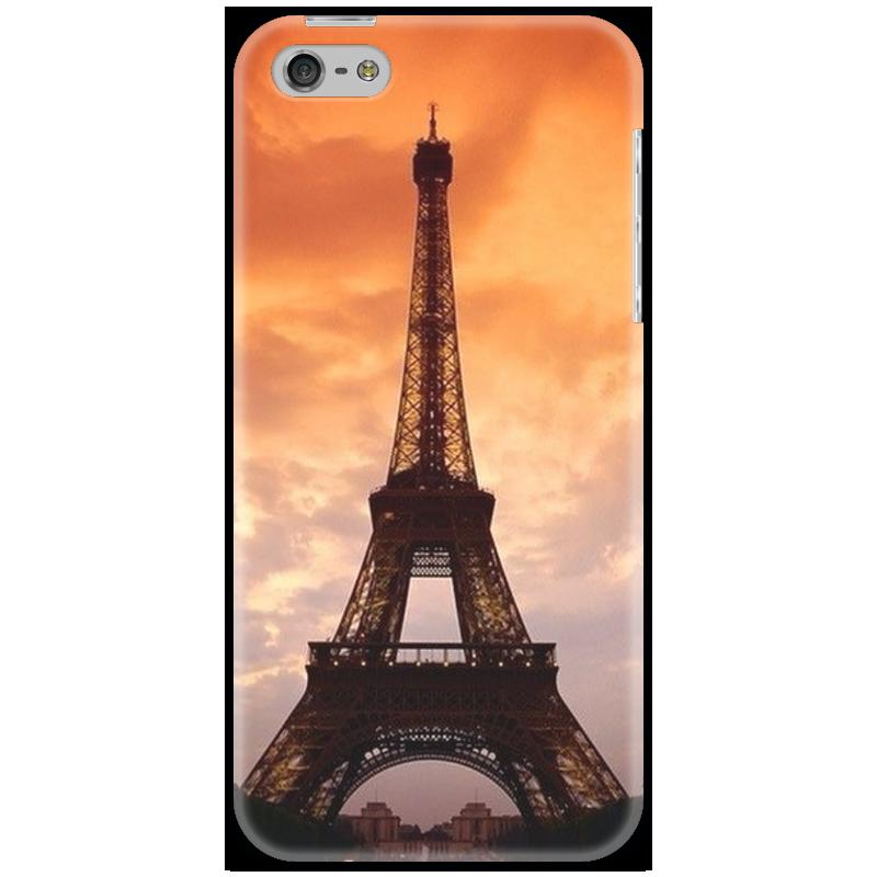 Чехол для iPhone 5 Printio Sunset in paris sunset in st tropez