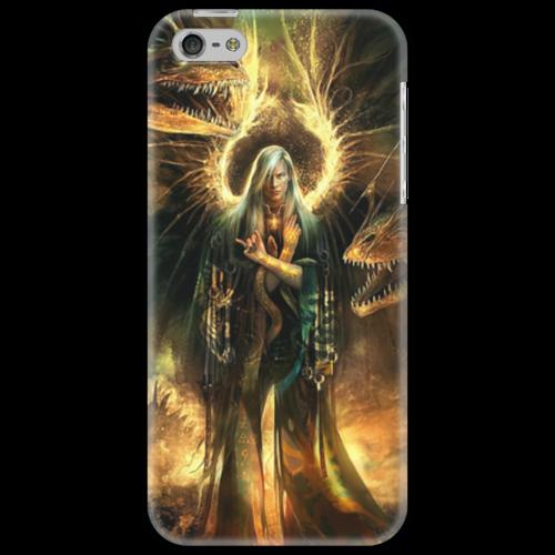 """Чехол для iPhone 5 """"Ангел"""" - крылья, ангел, апокалипсис, человек, драконы"""