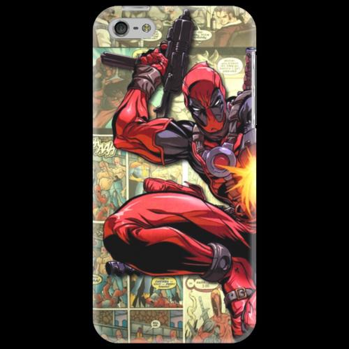 "Чехол для iPhone 5 ""Deadpool"" - comics, anti-hero, дэдпул, антигерой"