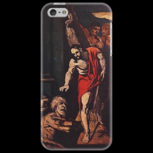 "Чехол для iPhone 5 ""Christ in Limbo"" - картина, сезанн"
