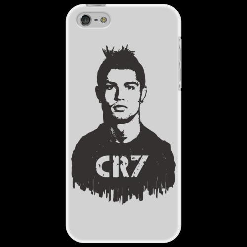 "Чехол для iPhone 5 ""Ronaldo 7"" - футбол, реал мадрид, чемпион, криштиану роналду"