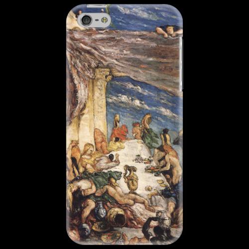 "Чехол для iPhone 5 ""Оргия"" - картина, сезанн"