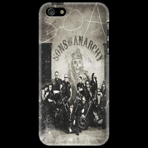 "Чехол для iPhone 5 ""S O A"" - sons of anarchy, drama, сыны анархии, crime, криминальная драма"