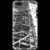 """Чехол для iPhone 5 """"Урбан"""" - арт, города, дизайн, черно белое"""