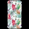 """Чехол для iPhone 5 """"Тропические цветы"""" - милый, лето, пальма, орхидея, женственно"""