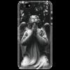 """Чехол для iPhone 5 """"Ангел"""" - арт, оригинально"""