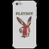 """Чехол для iPhone 5 """"Playboy Британский флаг"""" - playboy, плейбой, зайчик, великобритания, плэйбой"""