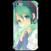 "Чехол для iPhone 5 ""Miku Hatsune Sush"" - аниме, hatsune, мику, бесконечное лето, miku"