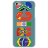 "Чехол для iPhone 5 ""BRICS - БРИКС"" - россия, китай, индия, бразилия, юар"