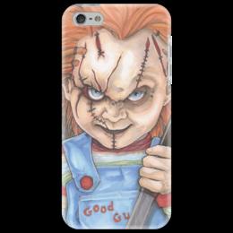 "Чехол для iPhone 5 ""Проклятие Чаки"" - кукла, маньяк, чаки"