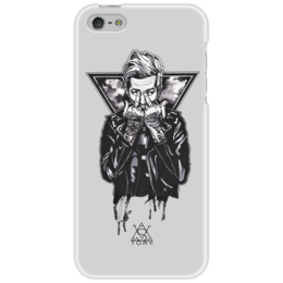 "Чехол для iPhone 5 ""Jesse Rutherford"" - the neighbourhood, nbhd, jesse rutherford, джесси джеймс разерфорд"
