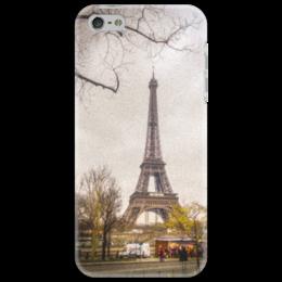 "Чехол для iPhone 5 ""Эйфелева башня/Tour Eiffel"" - франция, путешествия, париж, paris, эйфелева башня"