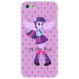 """Чехол для iPhone 5 """"Искорка (Девочки Эквестрии)"""" - мультфильм, mlp, искорка, equestria girls, девочки эквестрии"""
