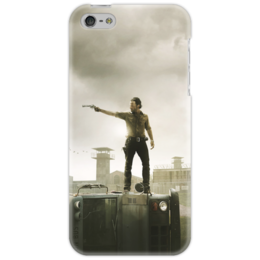 """Чехол для iPhone 5 """"Ходячие мертвецы"""" - zombie, зомби, ходячие мертвецы, the walking dead, walkingdead"""