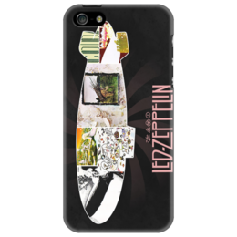 "Чехол для iPhone 5 ""Led Zeppelin"" - heavy metal, hard rock, legends, uk, led zeppelin, хэви метал"