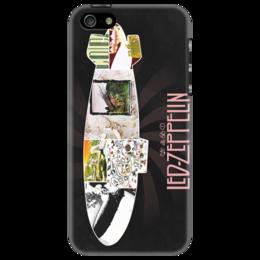 "Чехол для iPhone 5 ""Led Zeppelin"" - хэви метал, heavy metal, led zeppelin, uk, hard rock, legends"