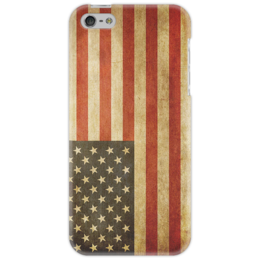 "Чехол для iPhone 5 ""The Classy Case #13"" - usa, винтаж, us, флаг, сша, flag, vintage"
