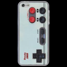 """Чехол для iPhone 5 """"dendy"""" - прикольно, прикол, арт, приколы, популярные, прикольные, в подарок, оригинально, девушке, парню"""