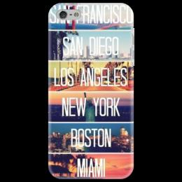 """Чехол для iPhone 5 """"""""Traveling"""""""" - в подарок, оригинально"""