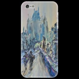 """Чехол для iPhone 5 """"Карлов мост"""" - красота, чехия, прага, карлов мост"""