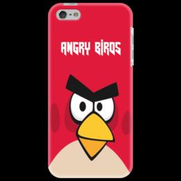 "Чехол для iPhone 5 ""Angry Birds (Terence)"" - terence, злые птички, angry birds, мультфильм, компьютерная игра"