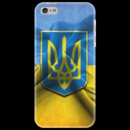 "Чехол для iPhone 5 ""Флаг Украины"" - ukraine, украина"
