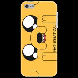 "Чехол для iPhone 5 ""Jake the dog"" - adventure time, время приключений, jake, jake the dog, время приключений с финном и джейком, собака джейк"