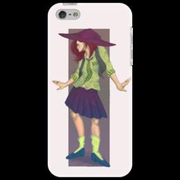 """Чехол для iPhone 5 """"Witch illustration"""" - ведьма, илюстрация"""