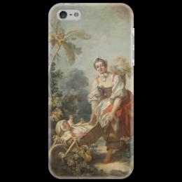 "Чехол для iPhone 5 ""Радости материнства"" - картина, фрагонар"