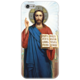 """Чехол для iPhone 5 """"Отче наш"""" - вера, христианство, иисус, бог, православие"""