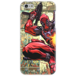 "Чехол для iPhone 5 ""Deadpool"" - comics, anti-hero, дэдпул, антигерой"