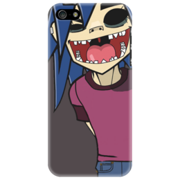 "Чехол для iPhone 5 ""Gorillaz"" - музыка, gorillaz, 2d, гориллаз, funk"