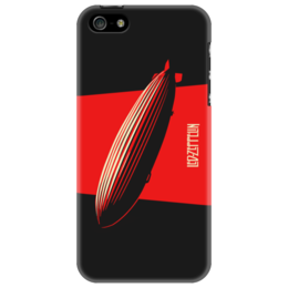 "Чехол для iPhone 5 ""Led Zeppelin"" - heavy metal, hard rock, хард-рок, uk, led zeppelin, хэви метал"