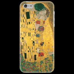 "Чехол для iPhone 5 ""Поцелуй (картина Климта)"" - картина, климт"