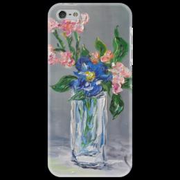 """Чехол для iPhone 5 """"Нежность"""" - красиво, весна, девушке, цветочки, нежность"""