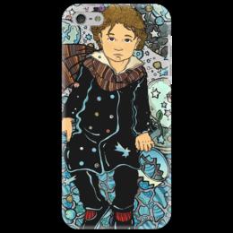 """Чехол для iPhone 5 """"маленький принц2"""" - арт, звезды, космос, мальчик, дети, маленький принц"""