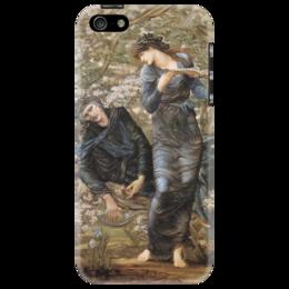 """Чехол для iPhone 5 """"Зачарованный Мерлин (Beguiling of Merlin)"""" - картина, бёрн-джонс"""
