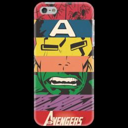 "Чехол для iPhone 5 ""Avengers"" - супергерои, marvel, мстители, avengers, superheroes"