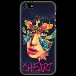 "Чехол для iPhone 5 ""Lady Gaga"" - музыка, арт, music, стиль, рисунок, личность, gaga, креативно, lady gaga, леди гага"