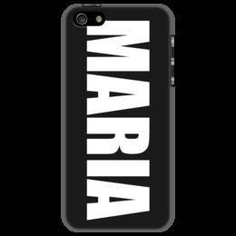 """Чехол для iPhone 5 """"с именем Мария"""" - мария, чехол с именем, чехол с именем мария"""