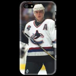 "Чехол для iPhone 5 ""Павел Буре "" - хоккей, hockey, nhl, нхл, буре, canucks, павел буре, pavel bure"