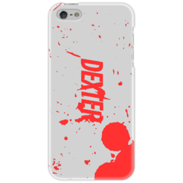 "Чехол для iPhone 5 ""Dexter"" - dexter, декстер, сериал, blood, драма, serial killer"